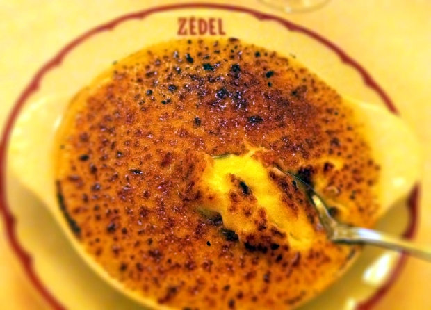 Crème Brûlée Brasserie Zedel We Love Food, It's All We Eat