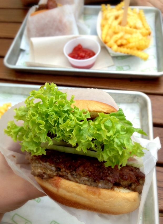Shake Shack London, We Love Food, It's All We Eat