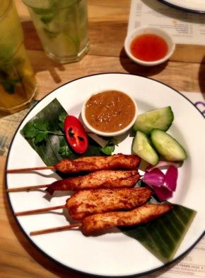 Ekachai   Liverpool Street   Satay   We Love Food, It's All We Eat