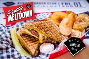 BYRON BURGER CLUB | PATTY MELTDOWN | WE LOVE FOOD, IT'S ALL WE EAT