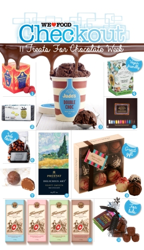 11 TREATS FOR CHOCOLATE WEEK | WE LOVE FOOD IT'S ALL WE EAT