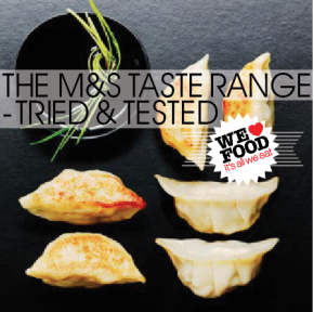 M&S TASTE RANGE REVIEW | WE LOVE FOOD, IT'S ALL WE EAT | TRIED & TESTED