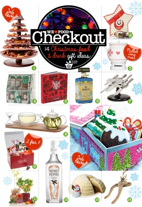 CHRISTMAS | 14 Christmas food & drink gift ideas | CHECKOUT | WE LOVE FOOD IT'S ALL WE EAT