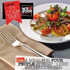 BURY COURT COMP | WE LOVE FOOD
