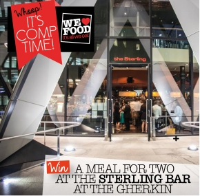 STERLING COMP | THE GHERKIN | WE LOVE FOOD, IT'S ALL WE EAT