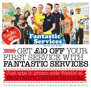 FANTASTIC SERVICES   FANTASTIC CLEANING   OVEN CLEANING   WE LOVE FOOD, IT'S ALL WE EAT OFFER