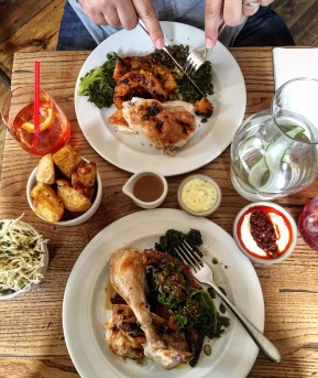LE COQ ISLINGTON   ROAST CHICKEN   WE LOVE FOOD, IT'S ALL WE EAT